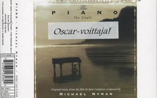 MICHAEL NYMAN: The Piano (The Single) – 4 track CDS 1994