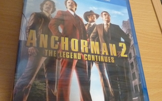 Anchorman 2 - The Legend continues ( Blu-ray ) UUSI