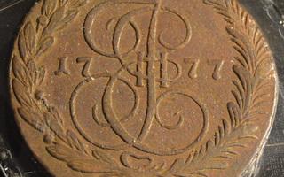 Venäjä 1777 EM5 Kopeekkaa (fff)