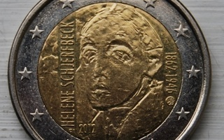 2 Euro Suomi 2012 Schjerfbeck