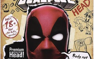 DEADPOOL interactive HEAD   - HEAD HUNTER STORE.