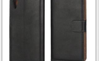Sony Xperia X Performance - Musta lompakko-suojakuori #22852