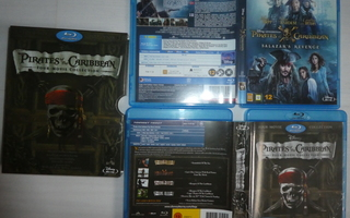 Pirates of the Caribbean 6 Blu-Ray