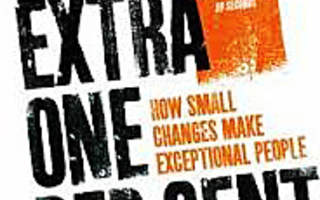EXTRA ONE PER CENT How Small Changes Make.. Rob Yeung UUSI
