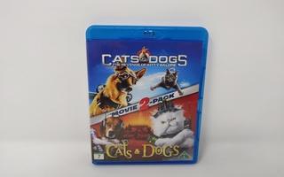 Cats & Dogs Tupla pakkaus - Blu-ray