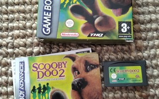 Scooby Doo 2 Monsters Unleashed Game Boy Advance