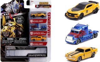 TRANSFORMERS NANO HOLLYWOOD RIDES 3-PACK	(61 489)	3 mini aut