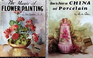 THE MAGIC OF FLOWER PAINTING BY NAN GREACEN, Walter Foster