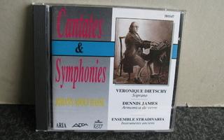Johann Adolf Hasse:Cantates&Symphonies cd