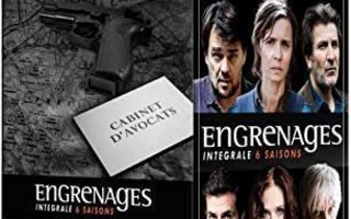 Engrenages - Spiral - season 1-6 blu-ray  - IMDB 8.5