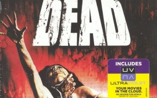 The Evil Dead  -  Limited Edition Steelbook  -   (Blu-ray)
