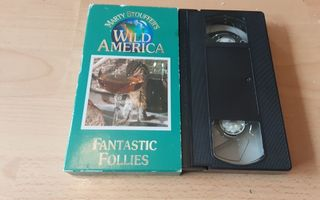 Marty Stouffer's Wild America: Fantastic Follies - SFX VHS