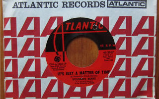 """SOLOMON BURKE: It`s just a matter of time  - 7"""" sg"""