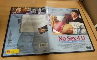 No Sex 4 U - Giving It Up    dvd