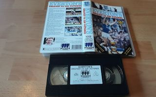 Everton's Greatest FA Cup Victories Vol. 2 - UK VHS