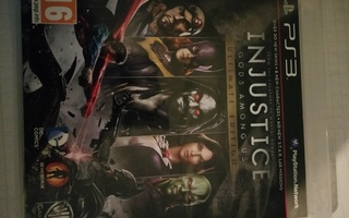 Injustice Gods Among Us Ultimate Edition PS3 sis. Ohjeet