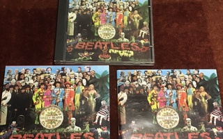 THE BEATLES - SGT PEPPERS LONELY HEARTS CLUB BAND - CD