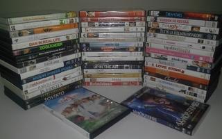 DRAAMA / KOMEDIA - 50 kpl DVD PAKETTI