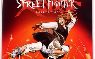 Sister Street Fighter Collection Blu-ray uusi 4 leffaa