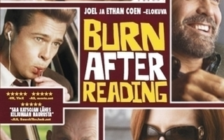 BURN AFTER READING(12286)-FI-DVDgeorge clooney