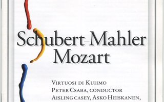Virtuosi di Kuhmo: SCHUBERT-MAHLER • MOZART – Live CD 2001