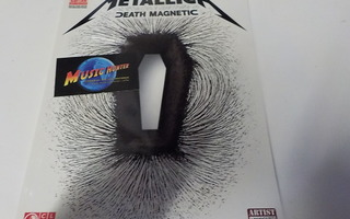 METALLICA - DEATH MAGNETIC NUOTTIKIRJA