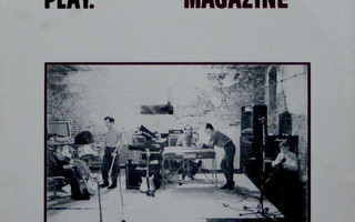 Magazine - Play. LP 1981 US Vinyyli