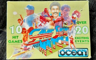 Commodore 64 Game Set And Match