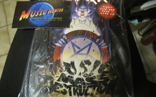 ANTHRAX - DESTRUCTION LIVE FROM CHICAGO - DVD + CD UUSI