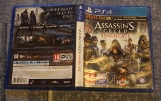 PS4 : Assassin's Creed Syndicate - Special Edition