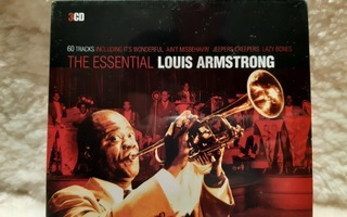The Essential Louis Armstrong - 3 CD:n boxi