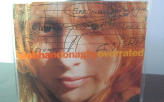 Siobhan Donaghy – Overrated PROMO CD-Single