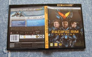Pacific Rim Uprising - 4K UHD HDR + BD [suomi]