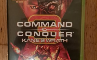 Xbox 360 Command & Conquer 3: Kane's Wrath videopeli