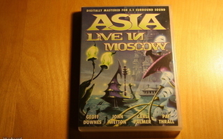 DVD ASIA - LIVE IN MOSCOW 5.1 SURROUND