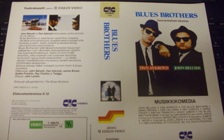 Vhs kansipaperi Fix - BLUES BROTHERS ( Sis.postikulut )