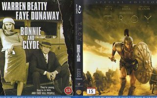 TROIJA / BONNIE JA CLYDE(1347)k-FI-BLU-RAY(2)2 movie