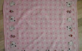 Muumi-huivi pinkki