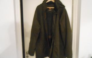 ICEPEAK takki, koko 58, 3XL. Hyvä, Tummanruskea.