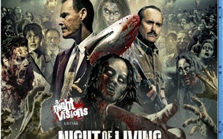Night of The Living Dead 3D :  Re-Animation  -   (Blu-ray)