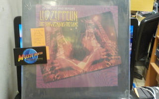 LED ZEPPELIN - THE SONG REMAINS... M-/M- DOUBLE LASER DISC