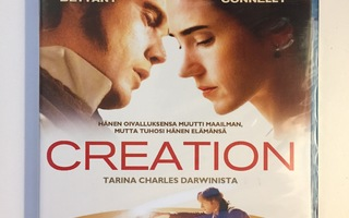 Creation (Blu-ray) Jennifer Connelly ja Paul Bettany (UUSI)