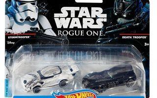 Star Wars Stormtrooper & Death Trooper Character Cars *UUSI*