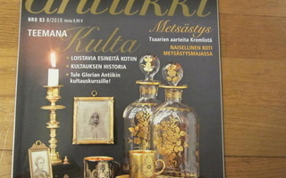 Glorian antiikki  No 93  8/2010