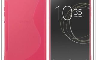 Sony Xperia XA1 - Pinkki geeli-suojakuori #23351