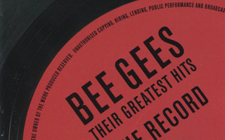 Bee Gees - Their Greatest Hits - The Record (2CD) EX!! HDCD