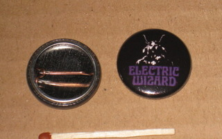 "Electric Wizard - purple rintanappi 1"" (n2)"