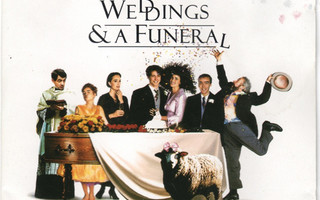 """VARIOUS: Songs From & Inspired By The Film """"Four Weddings CD"""