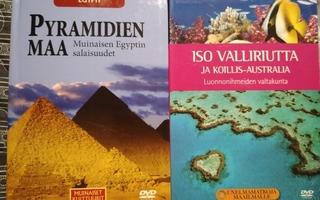 PYRAMIDIEN MAA ja ISO VALLIRIUTTA  2xDVD