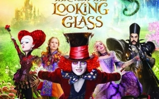 Alice Through The Looking Glass  -   (Blu-ray)